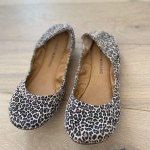 Lucky brand women's  ballet flat leopard 8.5